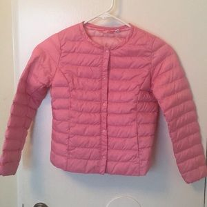 Uniqlo puffy jacket for girls